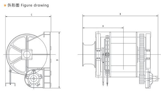 hydraulic single mooring winch supplier  china marine