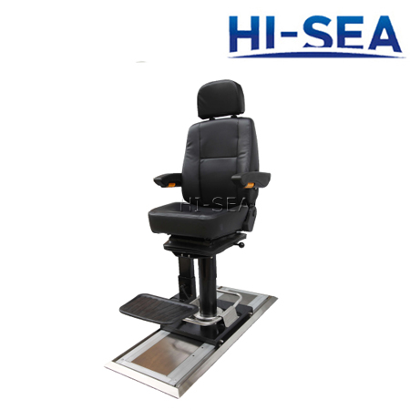 Captain��s Chair with Deck Slider