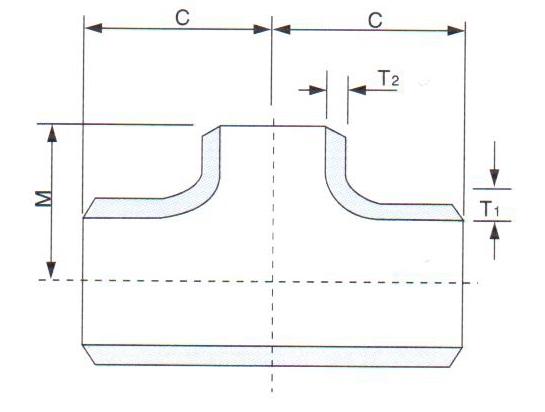 Stainless steel socket welding reducing tees supplier